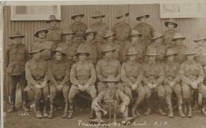 WW1 10th field ambulance, with Karl Oscar Rankin