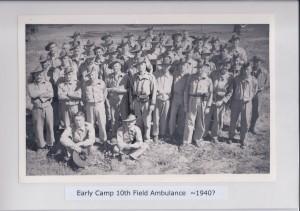 Early Camp 10th Field Ambulance ~ 1940?