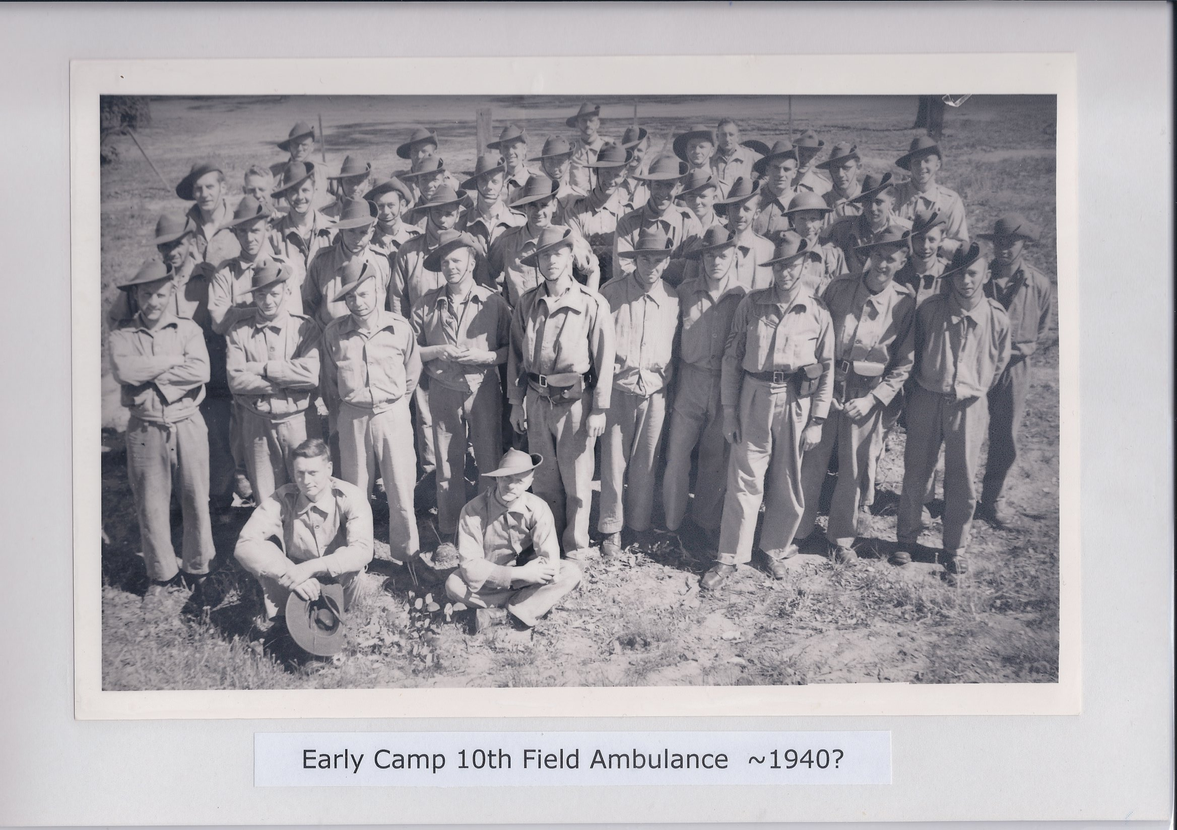 Early Camp 10th Field Ambulance ~ 1940?