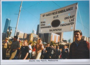 ANZAC Day March, Melbourne