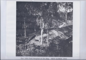 Our 10th Field Hospital at Oro Bay - NEW GUINEA 1943