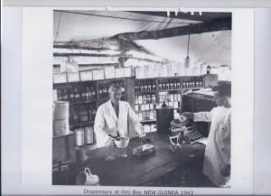 Dispensary at Oro Bay NEW GUINEA 1943