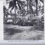Evacuation Post Dreger Harbour. NEW GUINEA 1943