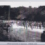 Official surrender of Japanese - AMBON 1945