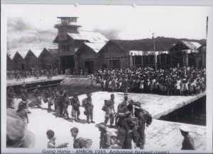 Going Home - AMBON 1945 Ambonese farewell (right)