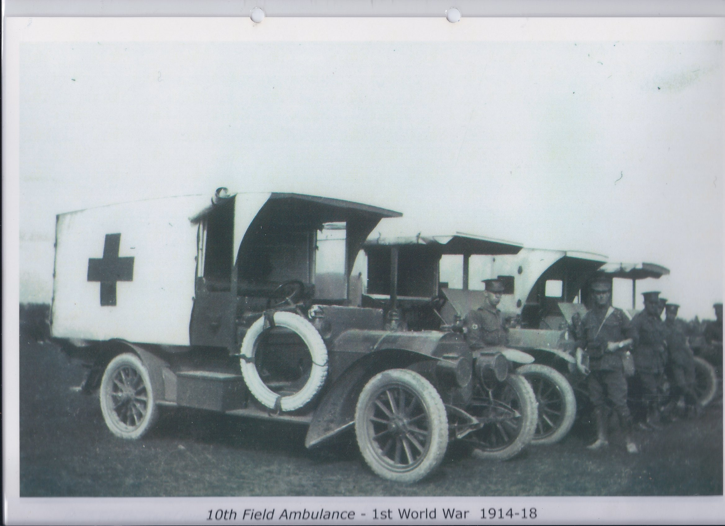 10th Field Ambulance - 1st World War 1914-1918