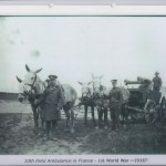 10th Field Ambulance in France - First World War 1916